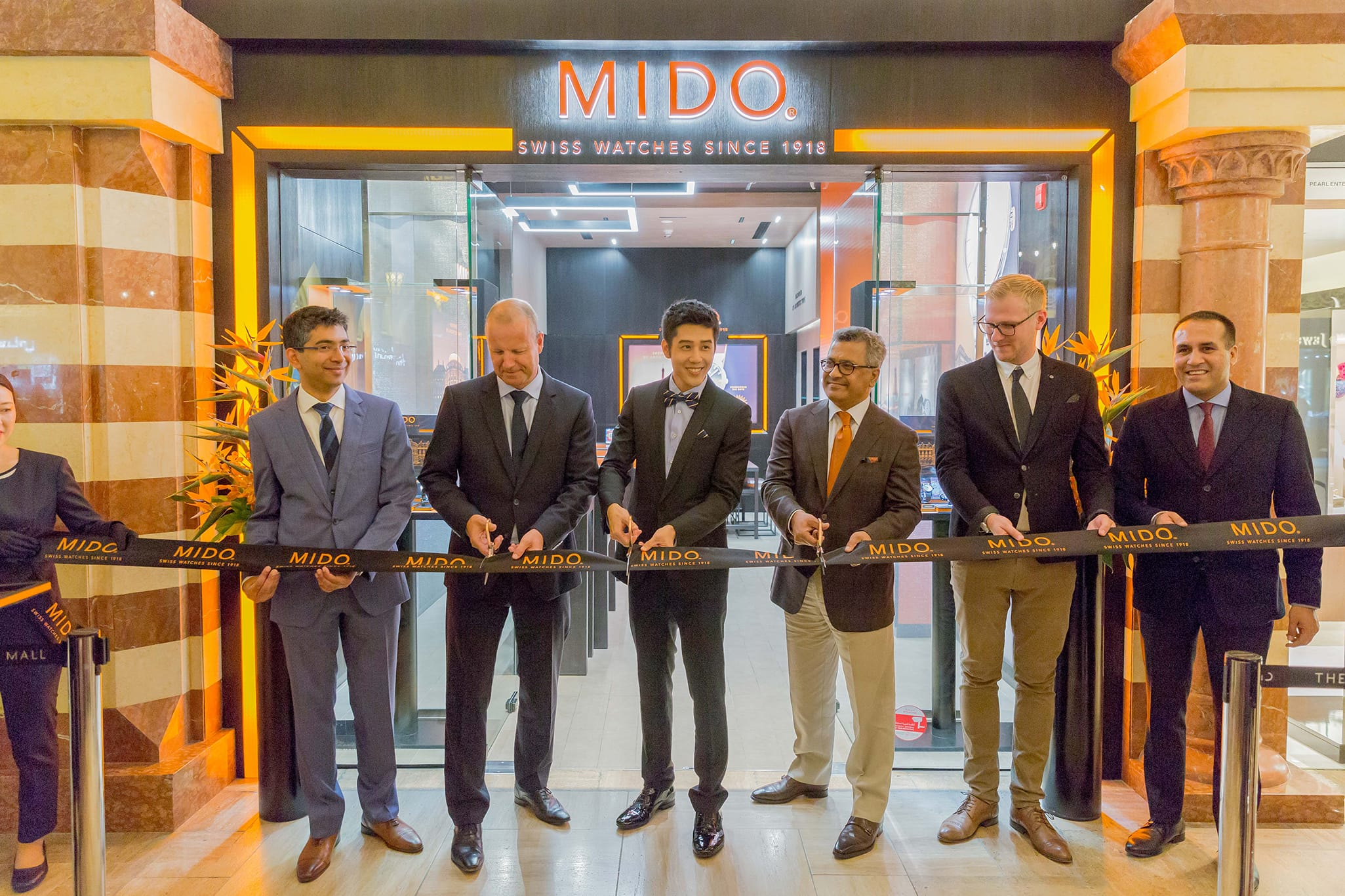 Mido opens a new boutique at the Dubai Mall