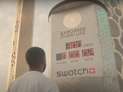 Swatch Counts Down The Days For Expo 2020 Dubai