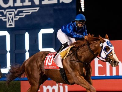 Longines Times The Victory of Mystic Guide In The 25th Dubai World Cup